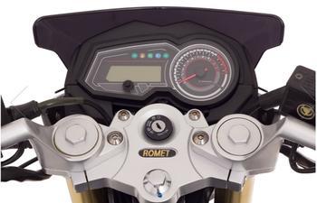 ROMET Z-ONE S 125, EURO 4, SVART