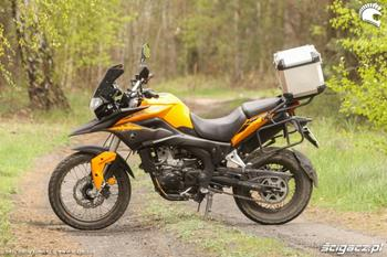 ROMET ADVENTURE 250 E ORANGE EURO 4 -17