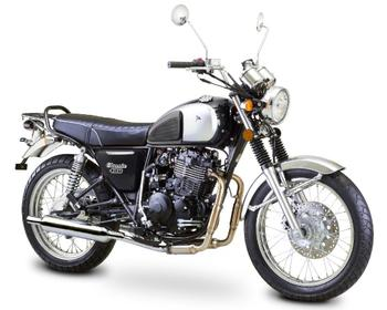 ROMET CLASSIC 400 E SVART EURO 4 -16